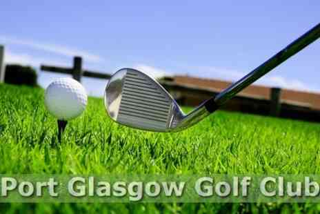 Port Glasgow Golf Club - One Day Golf Pass For Two - Save 62%