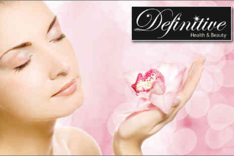 Definitive Health & Beauty - £19 for a facial and an eyebrow shape worth up to £66 - Save 71%