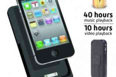 Logic3 - Essential Power Sleeve for iPhone 4 - Only £13.65 - Save 66%