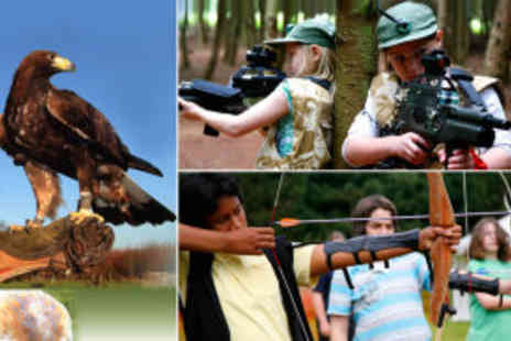 Rosliston Forestry Centre - Half day triple activity package  - Save 60%