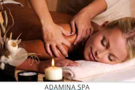 Adamina Spa - bespoke back, neck and shoulder massage - Save 71%