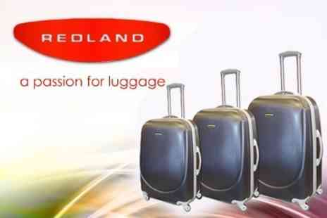 Redland Luggage - Three Piece Hard Case Luggage Set - Save 50%