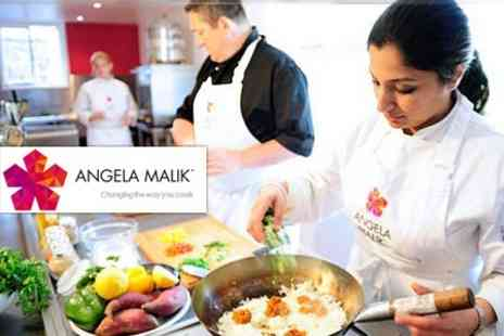 Angela Malik Cook School - Choice of Asian Cookery Classes - Save 54%