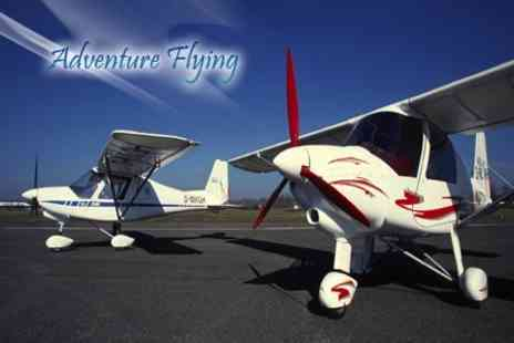Adventure Flying - Introductory Flying Lesson - Save 51%