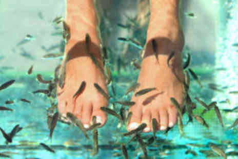 Fish 'n' Tips - Exfoliation and fish pedi - Save 72%