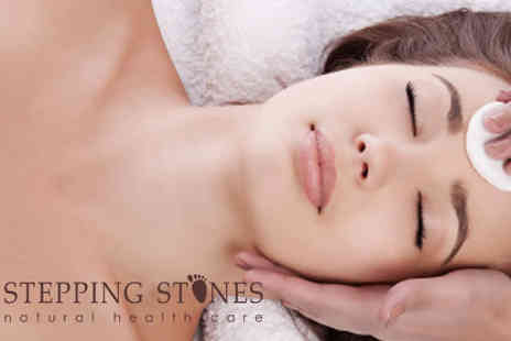 Stepping Stones - Biotech Facial � upgrade to include a 30 minute massage for an extra £7.5 - Save 47%