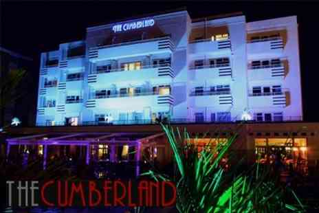 The Cumberland Hotel - One Night Getaway for Two with Three Course Dinner - Save 64%