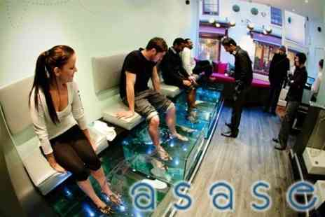 Asase Garra Rufa Spa - Half Hour Garra Rufa Fish Spa - Save 60%