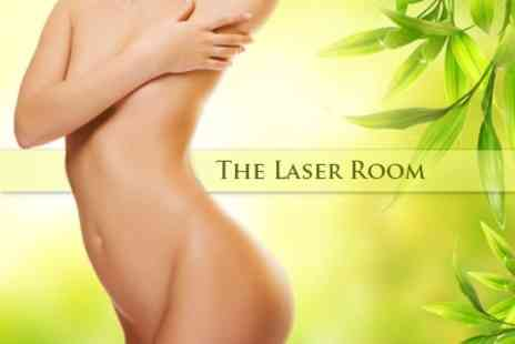 The Laser Room Cheshire - Four Sessions of Vacuum Cavitation Body Contouring - Save 78%