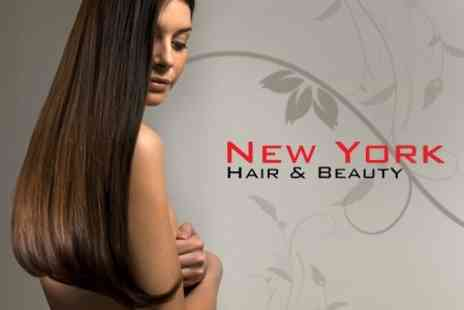 New York Hair and Beauty - Brazilian Blow Dry Keratin Treatment - Save 70%