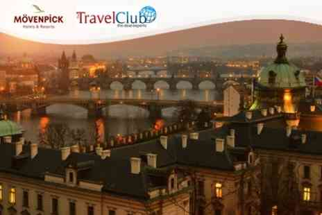 Movenpick Hotel Prague - Two Night Stay for Two with Breakfast and Wine on Arrival - Save 50%