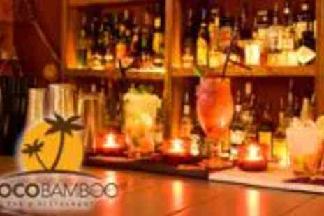 CocoBamboo - A platter to share for two plus four cocktails - Save 64%