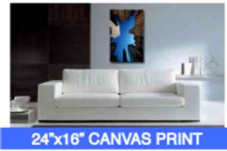 Your Perfect Canvas - A 24 x 16 Canvas Print - Save 67%