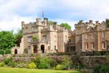 Otterburn Castle Country House Hotel - Northumberland Castle Stay with Rosette Dinner & Wine - Save 59%