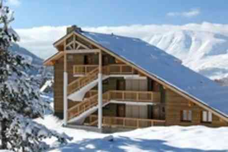 SnowTrex - In French Alps Ski Seven Night Stay For Two With Six Day Lift Pass - Save 27%