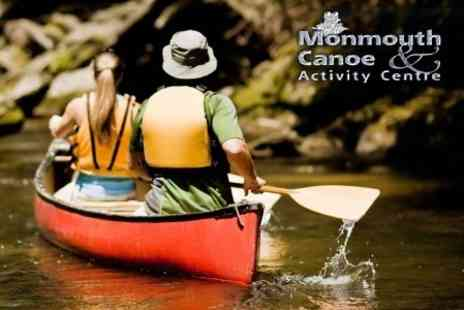 Monmouth Canoe & Activity Centre - Full Day Guided Canoe Trip On The River Wye - Save 58%