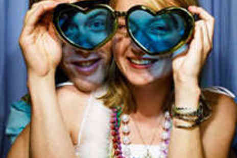 Photo Booth - Three Hour Photo Booth Hire with DVD of Images - Save 50%