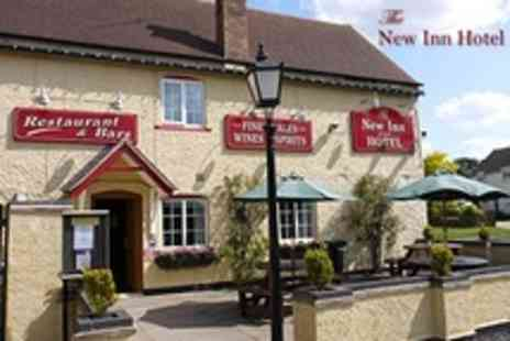 The New Inn - In Stratford upon Avon Two Night Stay For Two With Carvery and Breakfast - Save 51%