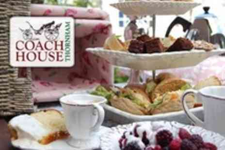 Thornham Coach House - Afternoon Tea For Two - Save 50%