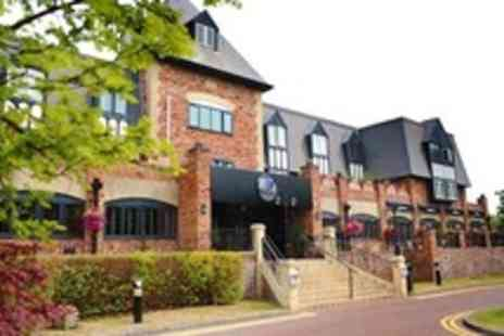 Village Hotel Manchester Cheadle - In Manchester One Night Stay For Two With Three Course Dinner and Breakfast - Save 49%