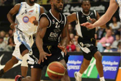 Newcastle Eagles Basketball - Two Tickets to a Newcastle Eagles Game - Save 57%