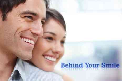 Behind Your Smile - Inman Aligner Clear Braces for Upper or Lower Front Teeth - Save 66%