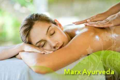 Marx Ayurveda Surrey - Full Body Herbal Oil Massage and Complete Herbal Beauty Facial - Save 72%