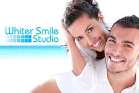 Whiter Smile Studio - Teeth Whitening at Whiter Smile Studio Two Sessions - Save 84%