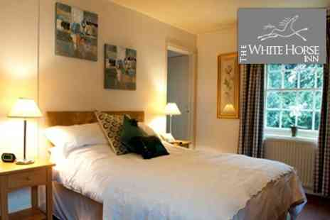 The White Horse Inn - Two Night Stay For Two With Two Course Dinner - Save 55%