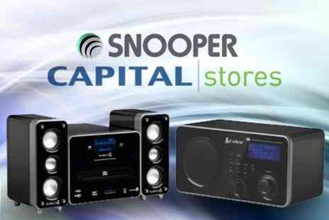 Capital Stores - W Fi Internet Radio and CD Player - Save 48%