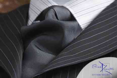 Gino Zanetti - Bespoke Fitted and Tailored Suit - Save 64%