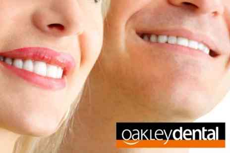 Oakley Dental - Clear Braces for Either Top or Bottom Arch - Save 60%