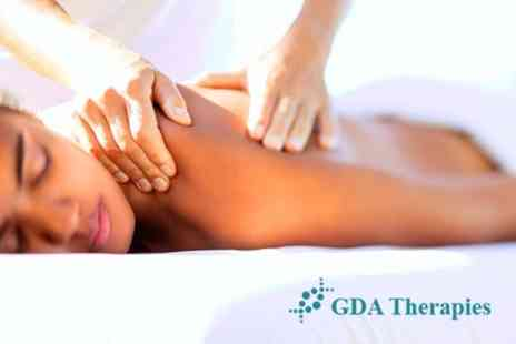 GDA Therapies - Full Day Course In Swedish or Indian Head Massage For Two People or Two Day Massage Course In Full Body and Indian Head Massage For One - Save 75%