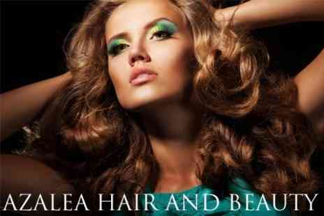 Azalea Hair and Beauty - Choice of Three Beauty Treatments From Massages, Waxing, Hair Conditioning, a Facial or Eye Treatments - Save 70%