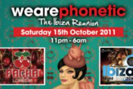 Pacha London - Entry To The Ibiza Reunion - Save 47%