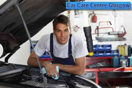 Car Care Centre - Full Winter Service Including 50 Point Check, Oil and Filter Change - Save 62%