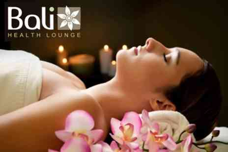 Bali Health Lounge - Balinese Spa Day With Treatments and Afternoon Tea For Two - Save 79%