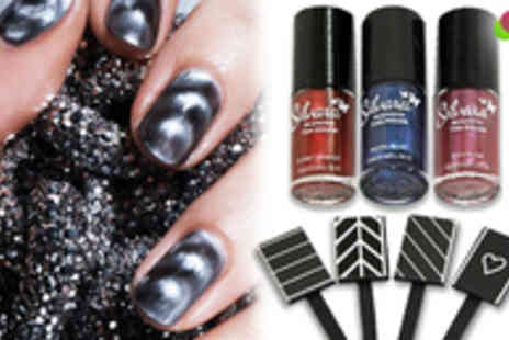 Quirky Online - Four Silvara Magnetic Nail Polishes - Save 52%