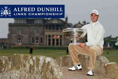 Alfred Dunhill Links Championship - Ticket to Final Day of St Andrews Old Course - Save 50%
