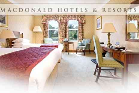 Macdonald Crutherland House Hotel - Overnight Stay For Two With Spa Treatment - Save 61%