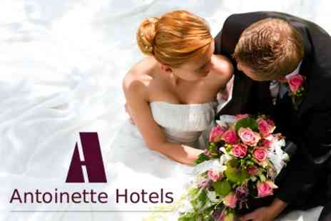 Antoinette Hotel - Wedding Package Including Ceremony, Food, Drinks, Room Hire, and Reception - Save 71%