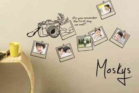 Moskys.co.uk - One Decal Wall Stickers from Moskys - Save 62%