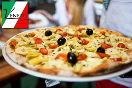 Veneto Restaurant - Two Course Italian Meal For Two - Save 65%