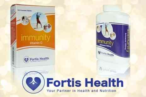 Fortis Health - Three Packs of Chewable Vitamin C Tablets - Save 58%