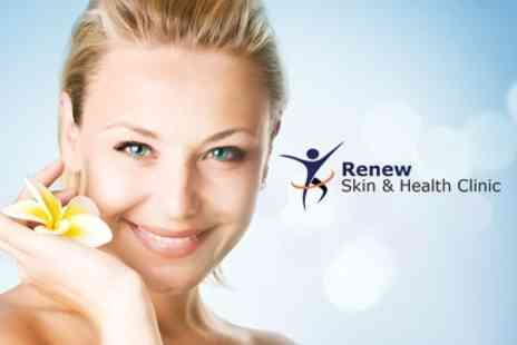 Renew Skin and Health Clinic - Voucher Towards Choice of Skin Treatments Including Facial Injections - Save 72%