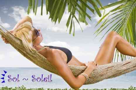 Sol Soleil - Self Service Spray Tan - Save 60%