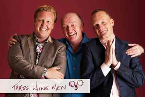 Three Wine Men - Two Tickets to Wine Tasting - Save 58%