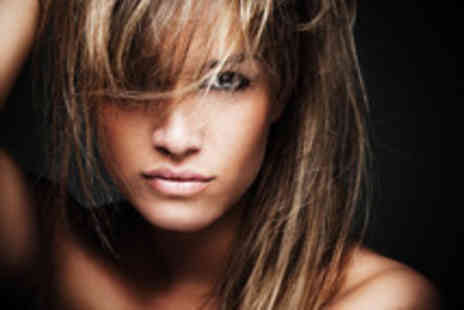 SR Beautique - Full tint or half-head of highlights, cut & blow dry with a senior stylist - Save 78%