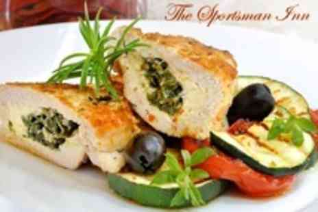 The Sportsman Inn - Two Course Pub Meal For Two - Save 55%