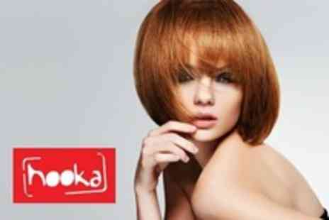 Hooka Hairdressers - Full Head Colour With Cut, Finish and L'Oréal Conditioning Treatment - Save 63%